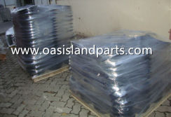 Split wheel rim packing