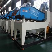 Mobile sand recycling machine exhibition