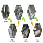 Dutch wire mesh production process