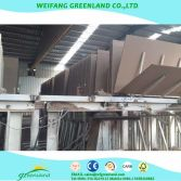 particle board produce line