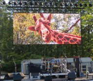 Indoor&outdoor rental LED display