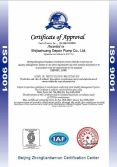 Explosion-proof motors ISO Certificate