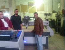 ck1325 wood cnc router in Egypt customer stock