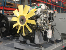 The Assembly Workshop of Diesel Engine