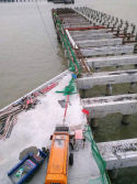 Pully Electric Concrete Pump Construciton Of Dock