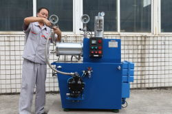 5 Liters Horizontal Bead Mill Final Inspection Again Before Package