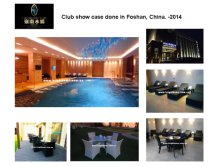Club show case done in Foshan, China. -2014
