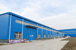 Haizen Flexible Pipe Manufacturing Steel Structure Workshop