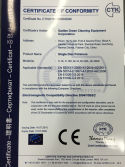 CE certificate of Polisher
