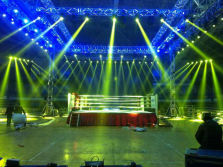 Performance Show with Stage Lighting effect