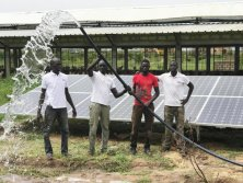 solar pump in Senegal