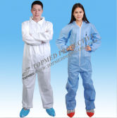 Disposable Non Woven PP/PP+PE/SMS/Microporous Coverall,working suit
