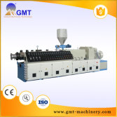 plastic Twin Conical extruder