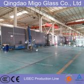 LISEC insulated glass production line