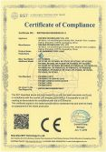 LVD certificate for LED pool light