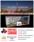2015 CONSTRUCT INTERNATIONAL IN TORONTO, CANADA