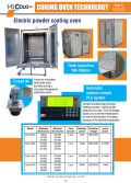 Hot Sale Powder Coating Curing Ovens