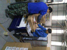Production process - packing