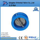 high quality wafer type cast iron check valve