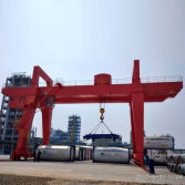 Gantry Crane for Mongoliacustomer