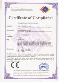 CE certificate of inflatable tent