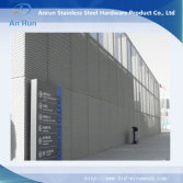 perforated metal curtain wall