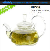 800ml Glass Teapot with Glass Filter