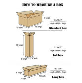 How to measure a box?