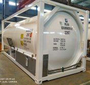 20FT LIN/LOX/LAR/N2O/LNG ISO Tank Container Exported to the Europe
