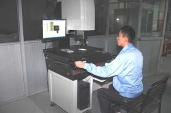 Testing room - three-dimensional detector