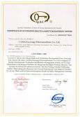 Certificate of Occupation Health Safety Management System