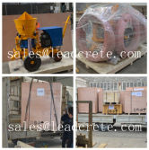 Deliver refractory gunite machine to Indonesia