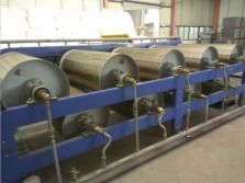 cooling roller for PVC floor tile production machinery
