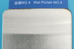 SS304 No.4 wet polish