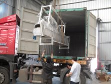 A set of PS granualting machine sold to Indonesia