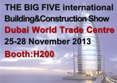 The Big Five International Building & Construction Show Dubai World Trade Centre