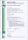 CE Certificate for gabion mesh