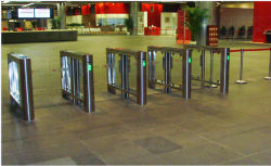 Shanghai World Expo Speed Gate Turnstile Project