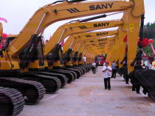 "SANY GROUP STICKS to ""GOING out""STRATEGY"