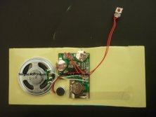 SOUND Module For Greeting Cards