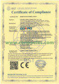 CE Cetificate of Compliance for Switching Power Supply/SMPS