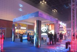 MRLED join the 2014 exhibition in Dubai