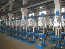 Upright drilling machine workshop