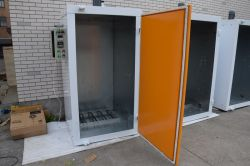 Britain Small Batch Powder Coating Oven