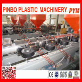 Waste plastic pelletizing line
