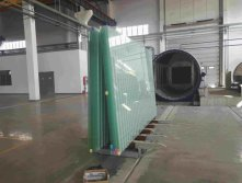 high pressure furnace for oversize laminating glass more than 8 meters