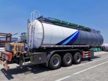 30CBM Chemical Tanker Trailer Exported to Middle East 2019. 08