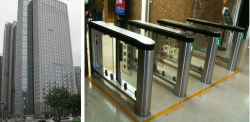 Morgan Centre Speed Gate Turnstile Project