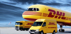 Sample order by dhl express