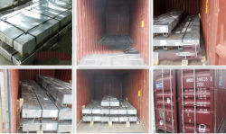 Steel Sheet Loading